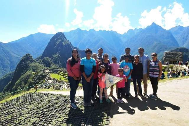 Familias-Prashant-Hansalia-Chavda en Cusco - Junio 2018